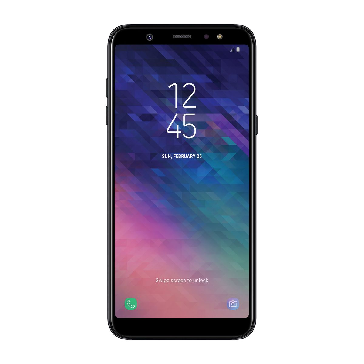 Samsung Galaxy A6 Plus Black - Celulares