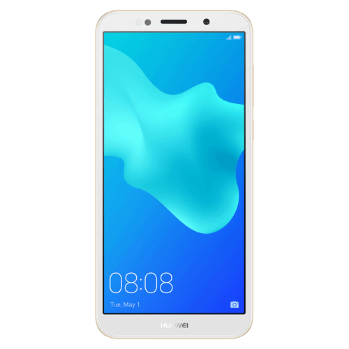 Imagen Frontal celular Huawei Y5 2018 Gold