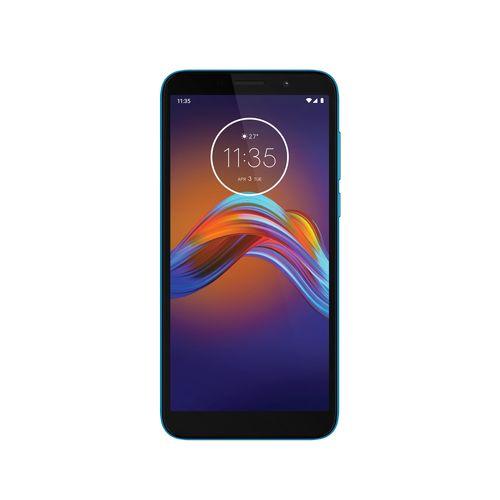 Celular Motorola E6 play -Frontal Azul