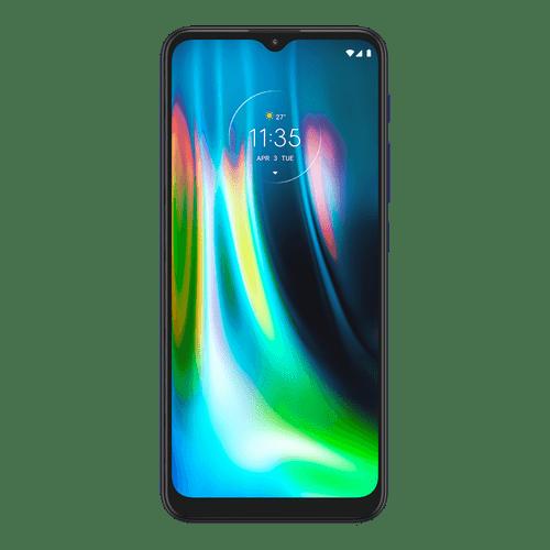 Celular Motorola G9 Play Azul -Frontal
