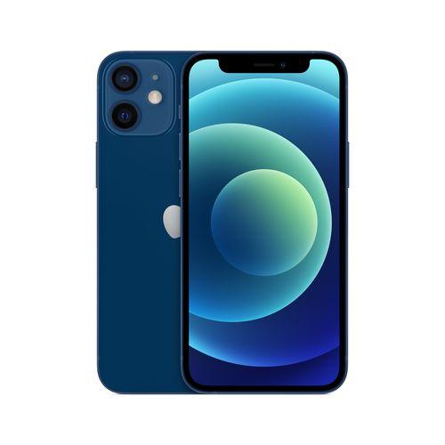 Celular Iphone 12 Mini Azul- Frontal
