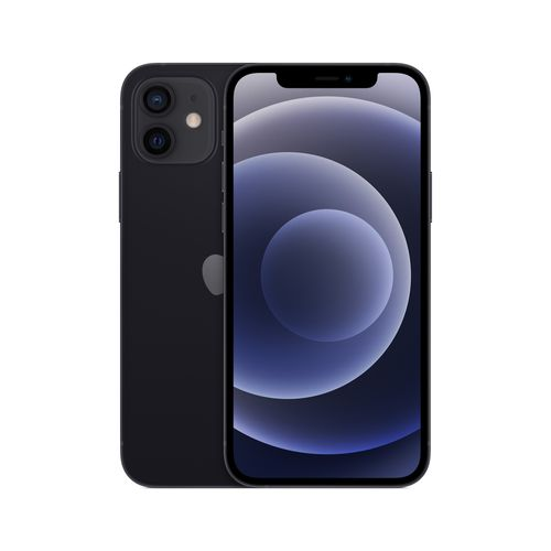 Celular Imagen Frontal Iphone 12 Negro 128GB