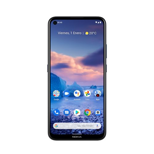 Celular Imagen Frontal Nokia 54 Azul