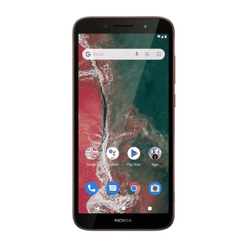 Celular Imagen Frontal Nokia C1 plus Rojo