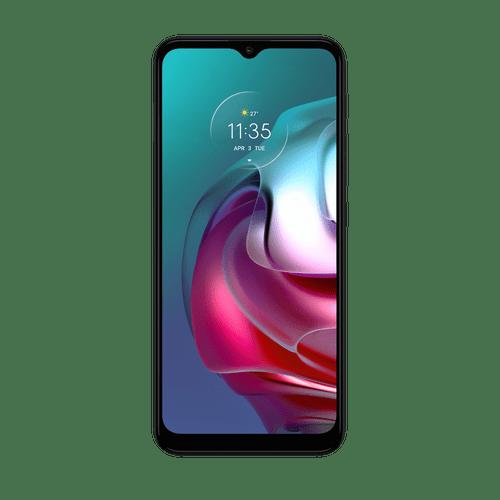 Celular Motorola G30 128GB -Frontal Gris